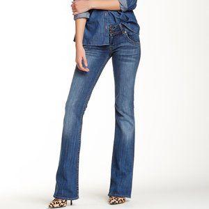 HUDSON Signature Bootcut Dark Denim Jeans